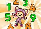 Pinte Milli Ensinando os Números