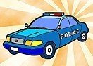 Pinte o Carro Policial
