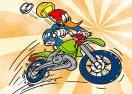Pinte o Pica Pau no Motocross