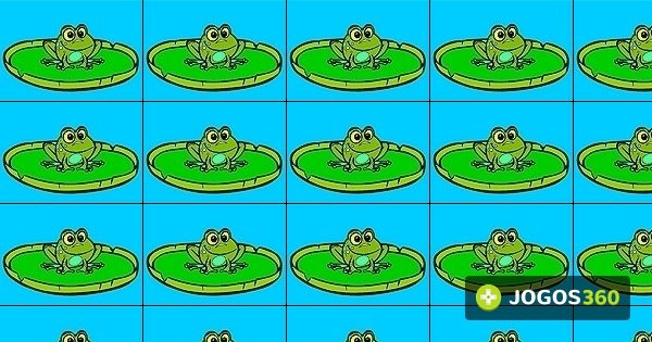 Jogo Pinte O Sapo Da Lagoa No Jogos 360