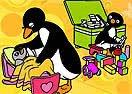 Pinte Pingu Brincando
