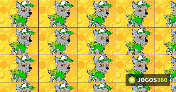 Jogo Pinte Rocky De Patrulha Canina No Jogos 360