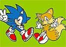 Pinte Sonic e Tails