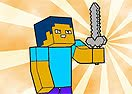 Pinte Steve de Minecraft