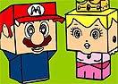 Pinte Super Mario Versão Minecraft