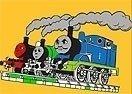 Pinte Thomas e Seus Amigos