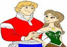 Princess Anna and Kristoff