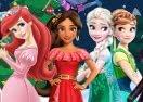 Princess Christmas Coloring Book 2018