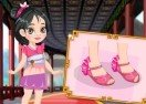 Princess Mulan Shoes Design