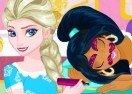 Princess Slumber Party Funny Faces