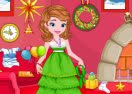 Princess Sofia Christmas Cleanup