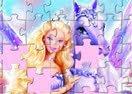 Quebra-Cabeça da Barbie e Pégasu