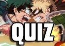 Quiz Anime: Sabe tudo sobre Minha Academia de Heróis?