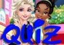 Quiz Disney: Você seria a Elsa ou a Tiana?