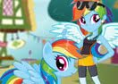 Rainbow Dash: Pony vs Human