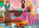 Rapunzel and Flynn Winter Clean Up
