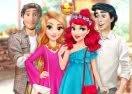 Rapunzel & Ariel: Double Date
