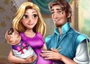 Rapunzel & Flynn - Happy Family