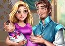 Rapunzel & Flynn - Happy Family