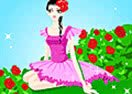 Roses Ballerina Dress Up