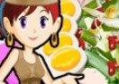 Sara Cozinha Salada de Vagem