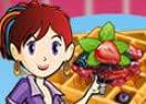 Sara Cozinha Waffles com Rabanadas