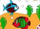 Sea Fish Coloring