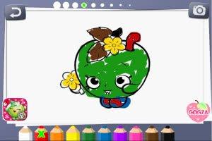 Shopkins Coloring Book - screenshot 1