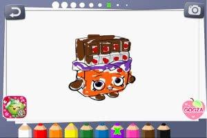 Shopkins Coloring Book - screenshot 2