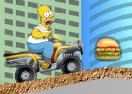Play Simpsons Starving Rush