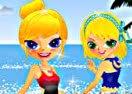 Sisters Ready To Swim