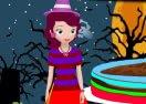 Sofia Halloween Baking