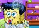 Spongebob Baby Bathing
