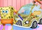 Jogar Spongebob Car Cleaning