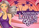 Summer Lover Quiz