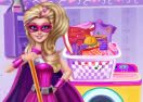Super Barbie Housekeeping Day
