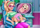 Super Barbie Pregnant Check-Up