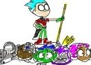 Teen Titans Go! Coloring Book