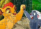 The Lion Guard Characters Puzzle