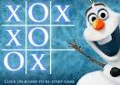 Tic-Tac-Toe Frozen: Olaf