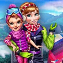 Winter Games Dressup