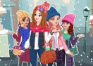 Winter Top Model Dressup