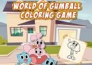 World of Gumball Coloring Game