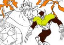 Xmen Cartoon Coloring